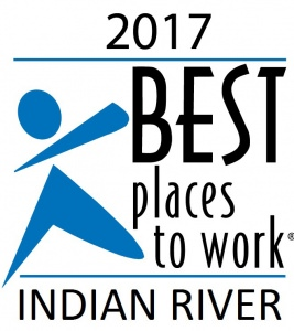 Logo for 2017 Best Places To Work - Indian River