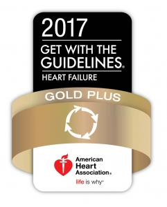 American Heart Association Heart Failure Gold Plus 2017 Award